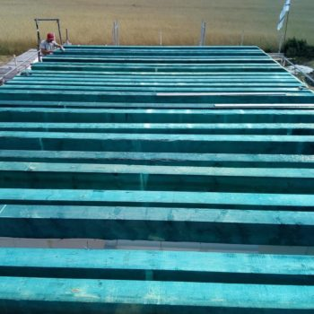 Poradnik budowy domu, odcinek 17, montujemy belki stropowe, belki stropowe