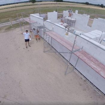 Poradnik budowy domu, odcinek 9, murowanie ścian nośnych z gazobetonu. Jak wymurować ściany?
