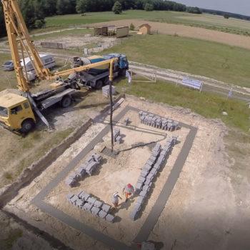 Poradnik budowy domu, odcinek 3, fundamenty