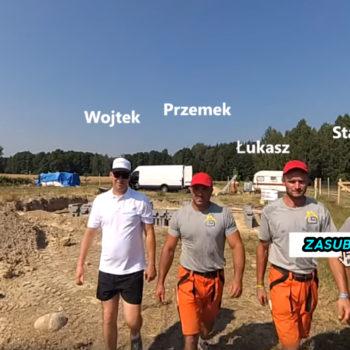 Przemek działa, nasz budowlaniec Łukasz wyrabia klej, Wojtek na wakacjach 😲 a Stasio na urlopie 😭