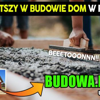 Dom na start, sezon 2 cz.2 | Jak zrobić zbrojenie fundamentów ? | Chudziak | Budowa domu | Projekt