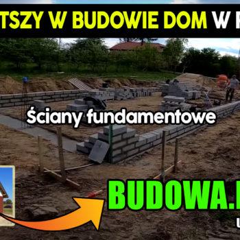 Dom na start, sezon 2 cz.3 | Jak wymurować ściany fundamentowe ? | Fundament | Budowa domu | Projekt