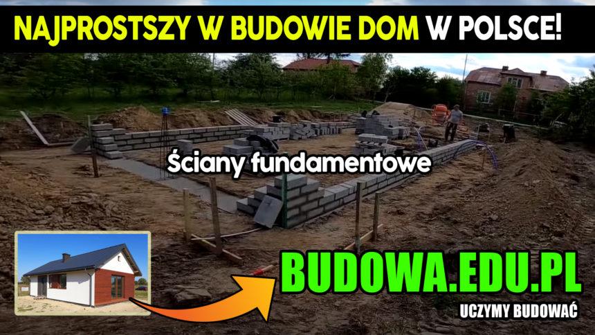 Dom na start, sezon 2 cz.3   Jak wymurować ściany fundamentowe ?   Fundament   Budowa domu   Projekt