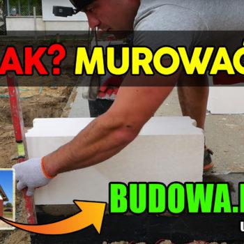 Dom na start, sezon 2 cz.8 | Jak murować | Gazobeton | Murowanie | Budowa domu | Zrób to sam