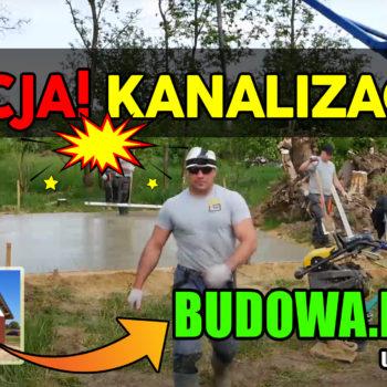 Dom na start, sezon 2 cz.7 | Jak zrobić kanalizację? | Budowa domu | Mieszkałem z Ridlem! 😱