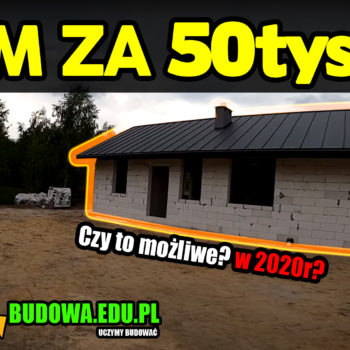 ⛔ Dom za 50tys? ⛔ Czy da się zbudować dom za 50tys? My to sprawdziliśmy i to własnymi rękoma! 🔑🏠