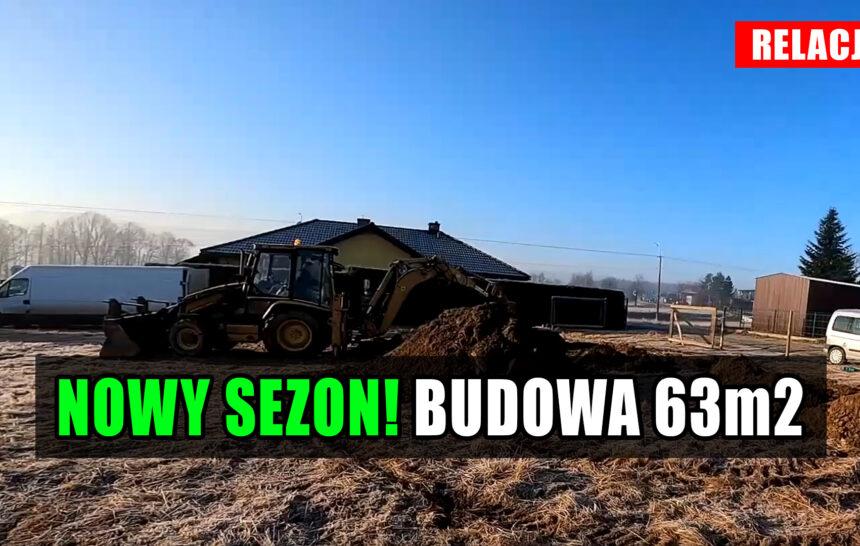 Budowa domu 2021. Jak wykonać fundament, same konkrety. Dom na start bez kredytu 63m2. cz.1